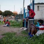 MOVIE STARS. Liberi Nantes har väckt intresse både hos italiensk och internationell media och förra året gick Black Star, en spelfilm som handlar om laget, upp på Roms filmfestival.