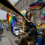 """Angess Landau, 20, levde som homosexuell man i Baku, Azerbajdzjan, innan hon påbörjade hormonbehandlingar för att byta kön för ett halvår sedan. """"Det är jag som får tala om för läkarna hur de ska göra"""", säger Agness."""
