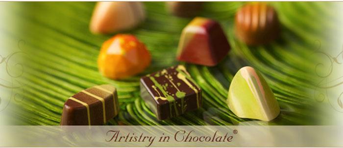 Godbitar från chokladmästaren Norman Love (bild från hemsidan)