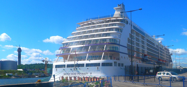 Seves Seas Voyager på besök i Stockholm sommaren 2013. Foto: Anders Hedberg