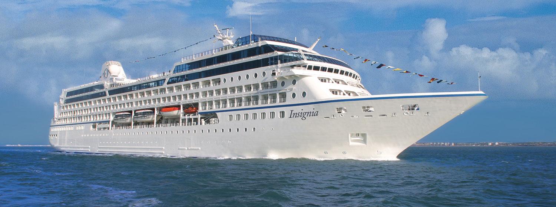Fartyget Oceania Insignia. Foto: Oceania Cruises