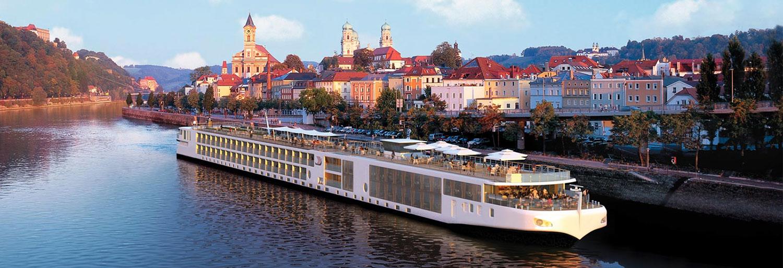 Stillsamma flodkryssningar med Viking. Foto: Viking River Cruises