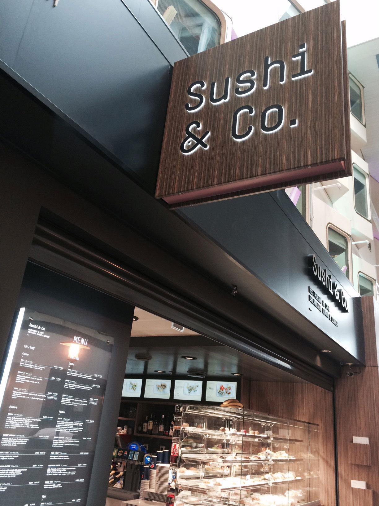 Östersjöns första sushi-restaurang.