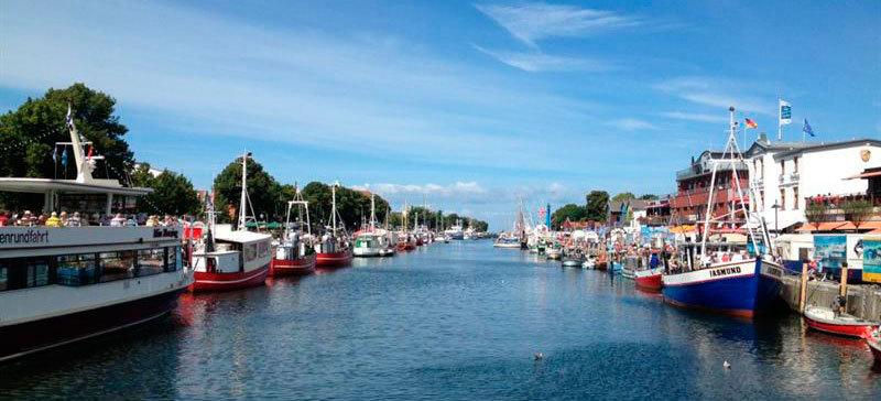 Tyska kustorten Warnemünde. Foto: Birka Cruises