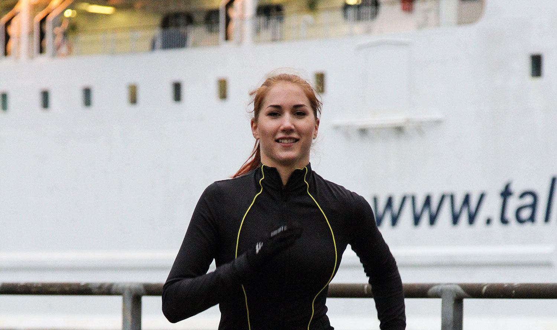 Sju träningspass på fyra dagar ingår. Foto: Tallink Silja