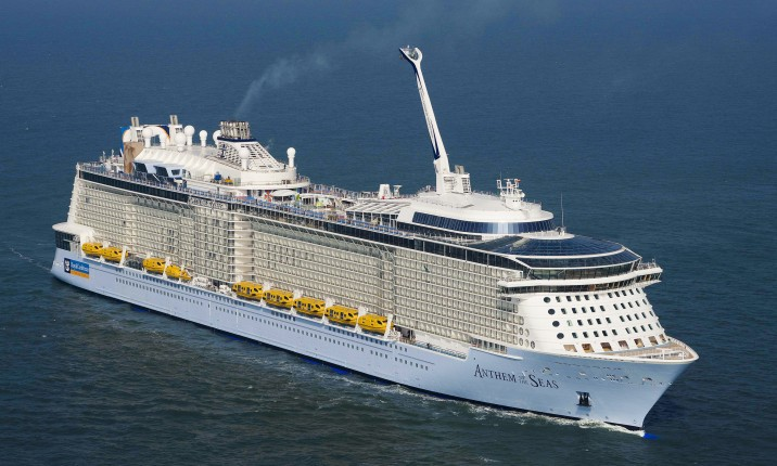 Anthem of the Seas har premiär 20 april. Foto: Meyer Werft