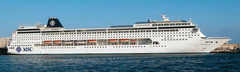 MSC Sinfonia. Foto: MSC Cruises