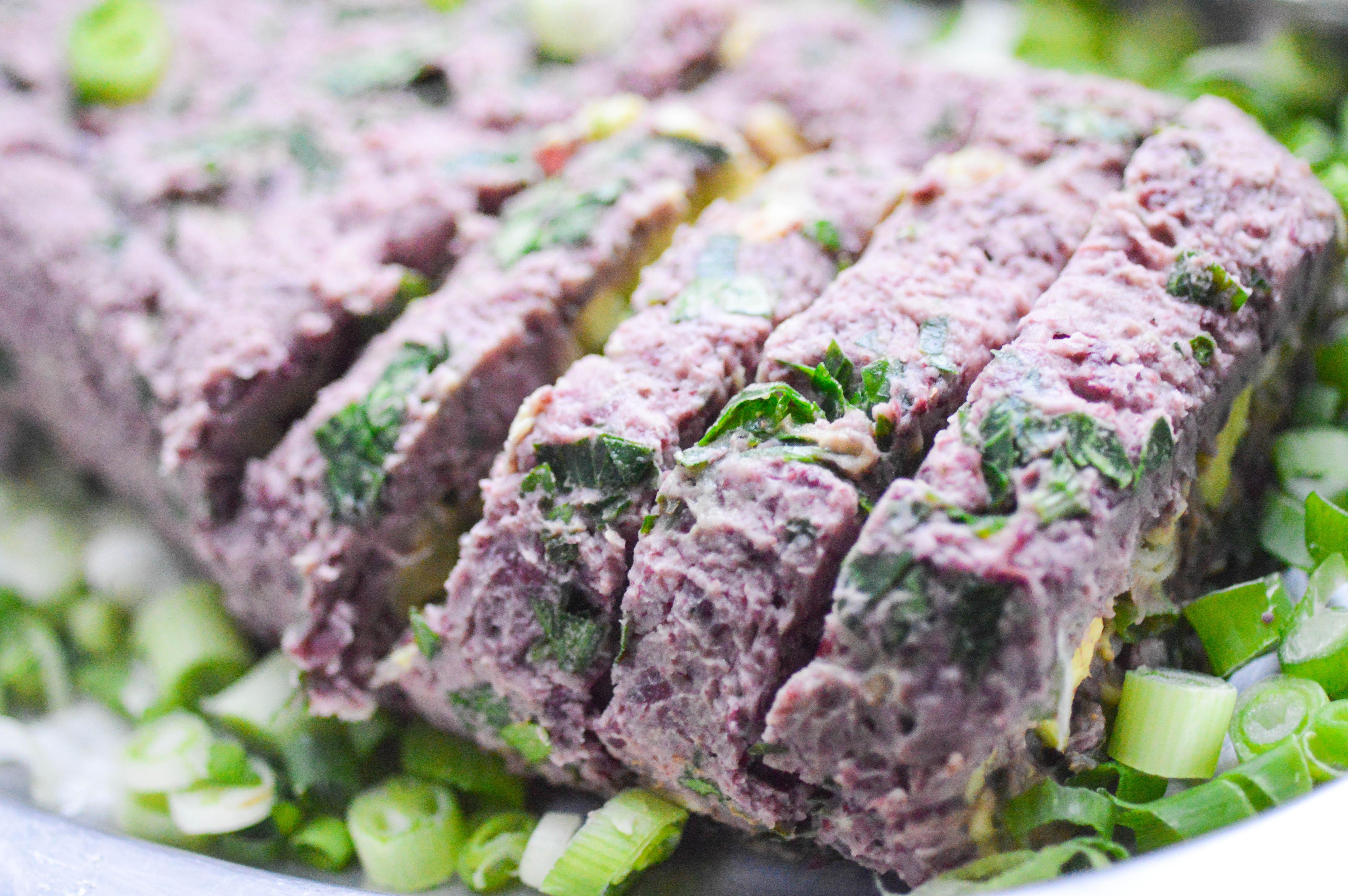 vegetarisk köttfärssås sojafärs