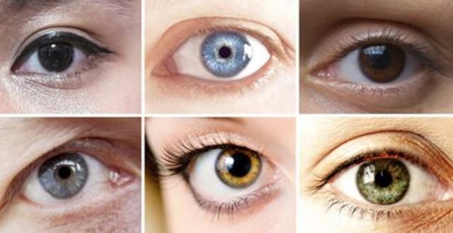 vilken ögonfärg är vanligast