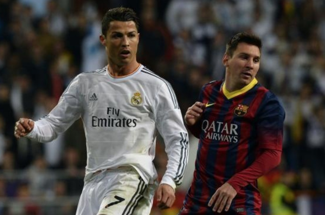 Fimpar for ronaldo och lionel messi