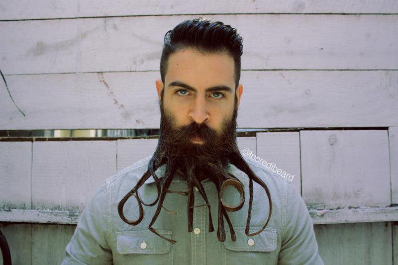 hur trimma skägg