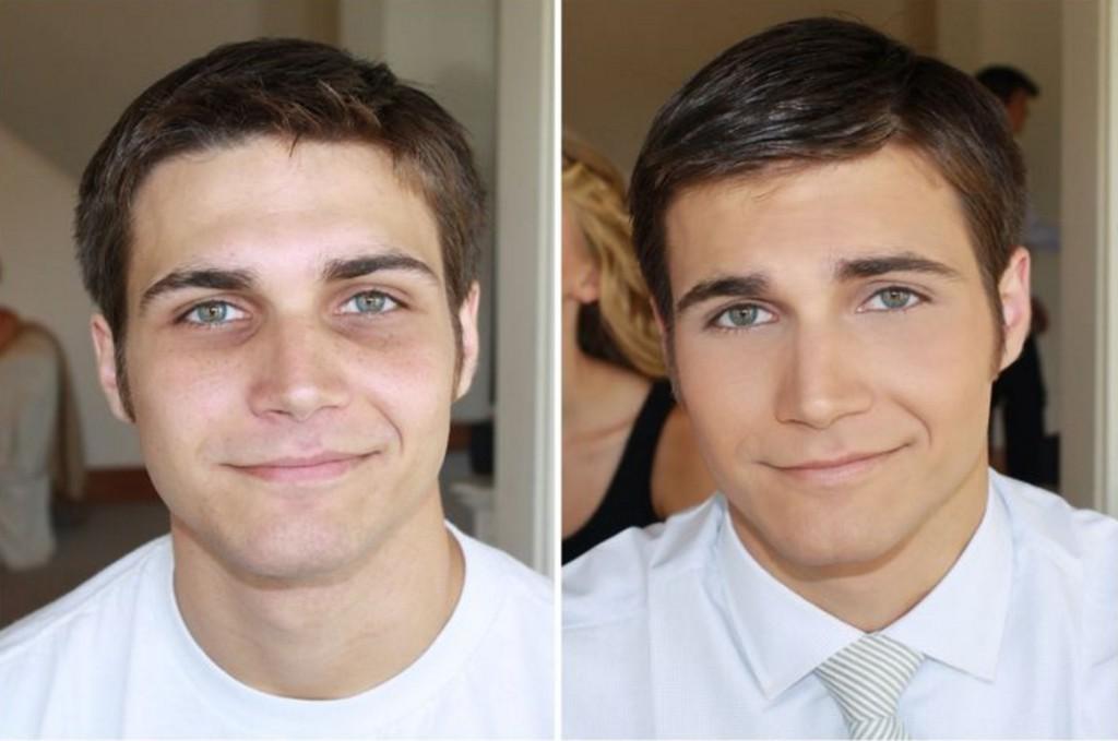 make up för män