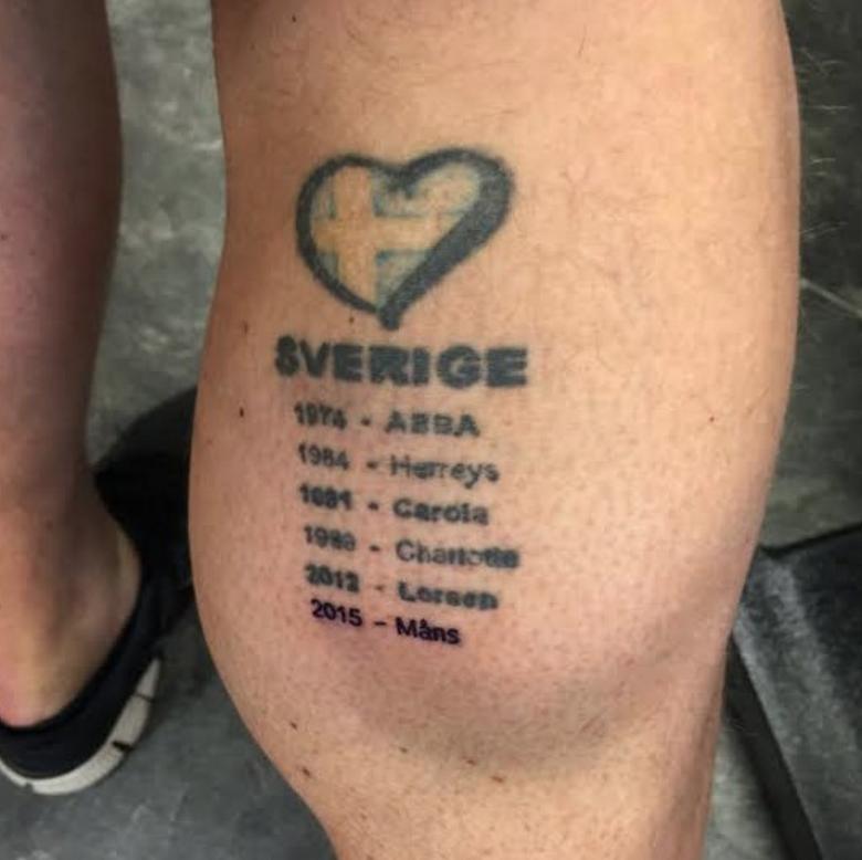 11 av de roligaste och sjukaste tatueringarna i svensk for Yolo penis tattoo
