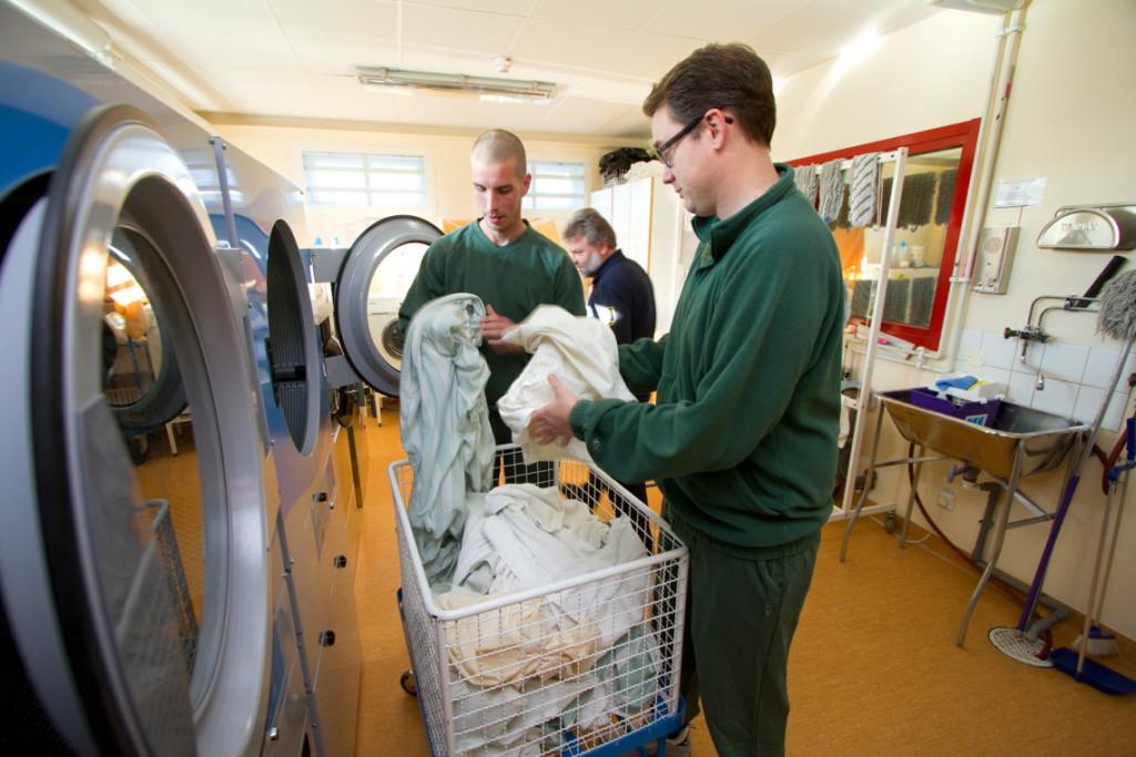 Tvätteriet på häktet i norrköping