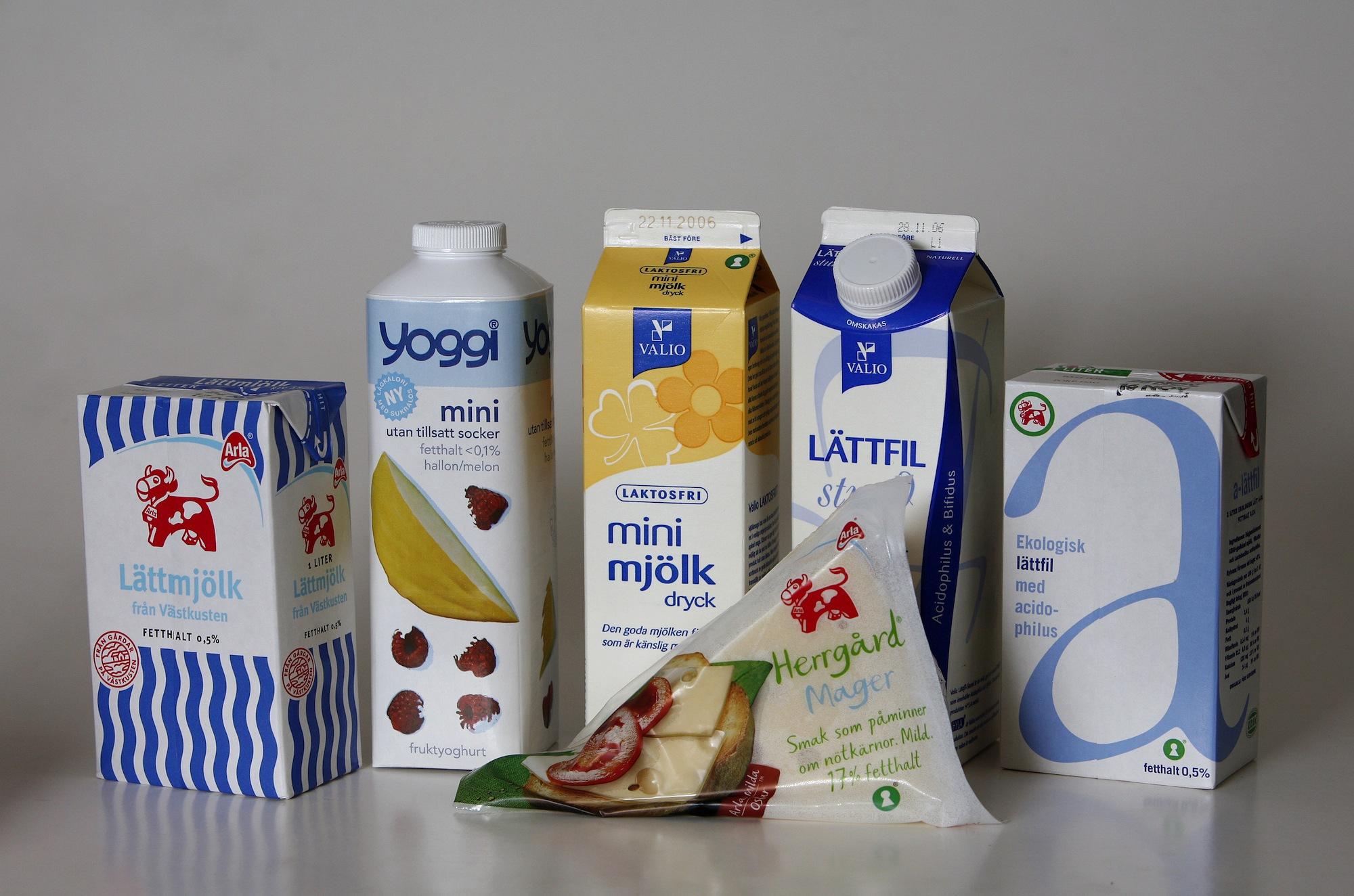 Mjölk kan leda till högre dödlighet och ökad risk för benbrott. Foto: Anders Deros.