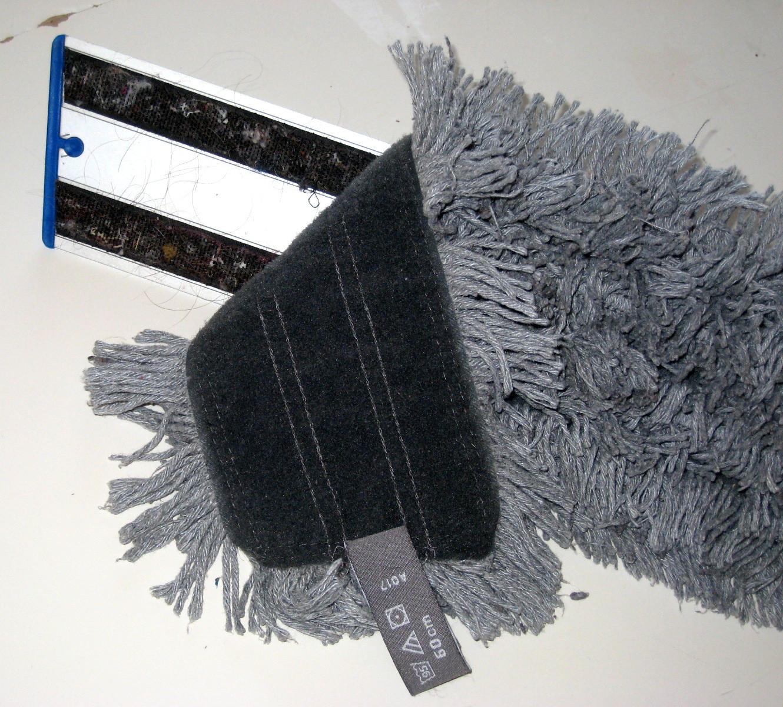 Golvmopp i mikrofiber passar alla golvtyper.