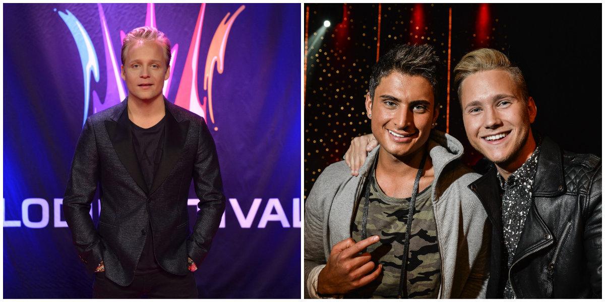 Andreas Weise och Samir Badran och Viktor Frisk. Foto: TT