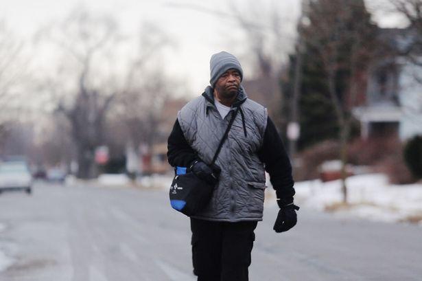 James Robertson i Detroit. Foto: AP / TT.