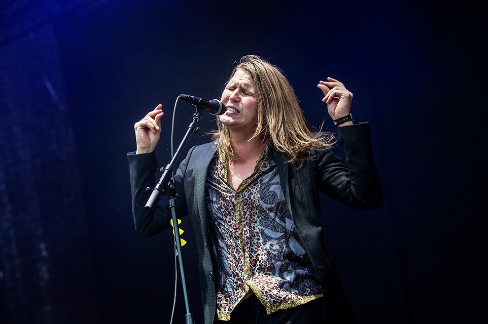 Markus Krunegård. Ser du rockens frustration på bilden? Foto: Robin Lorentz-Allard.