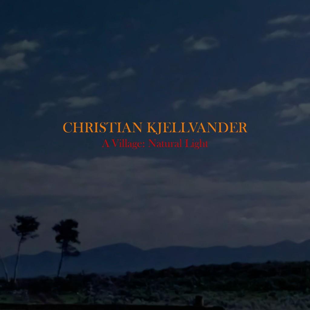 Skivomslag till Christian Kjellvander