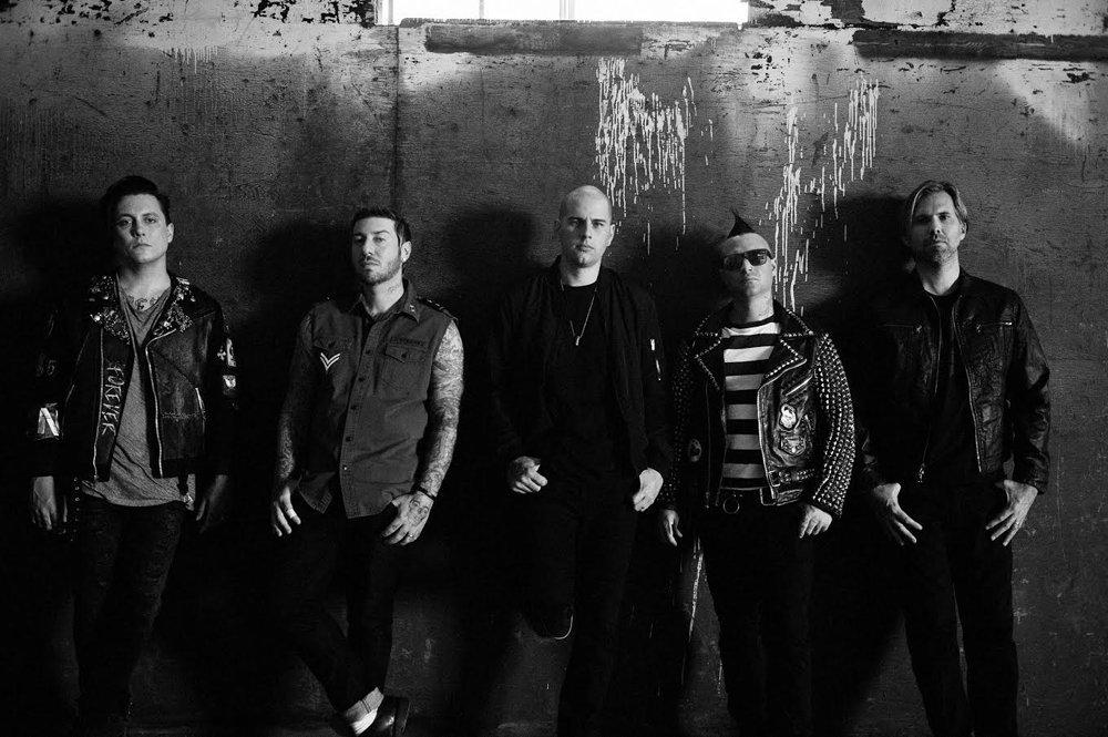 Avenged Sevenfold lyckades med det omöjliga i dagens transparenta sociala medier-tider: Släppa ett album utan mer än bara ett par dagars förvarning. Foto: Promobild