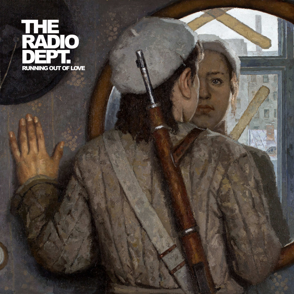 "Omslag till ""Running out of love"" med The Radio Dept."