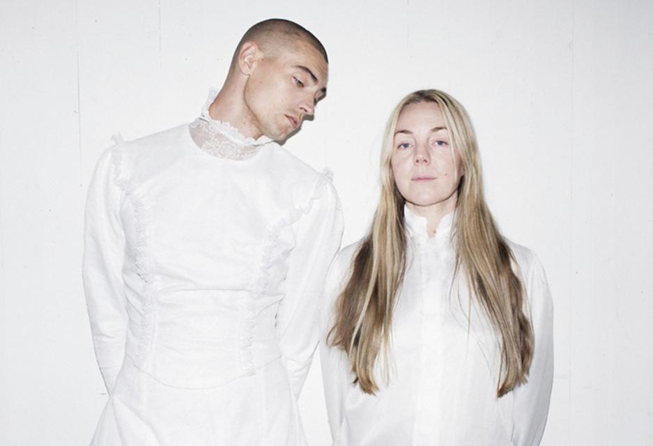 Gustaf Norén och Fia-Stina Sandlund är She's Wild Again Tonight. Foto: Märta Thisner.