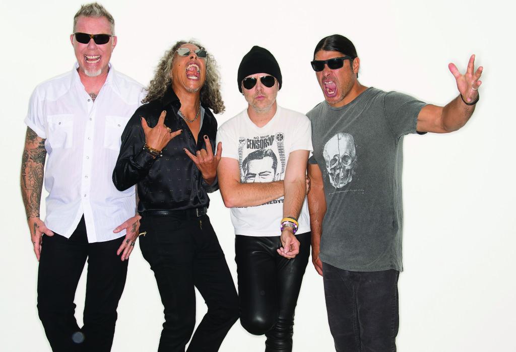 Det är förvisso inte som påskskildrare som Metallica har spelat till sig en plats i rockhistorien. Men det är ju en annan fråga. Foto: Ross Halfin