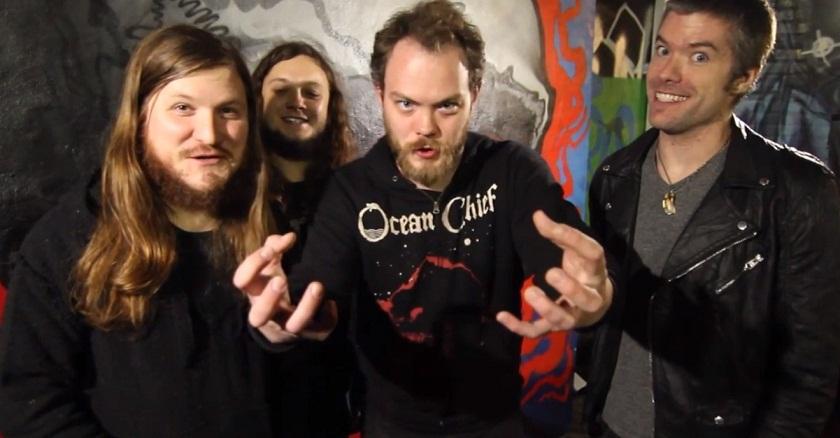 Kvartetten från Little Rock tar steget upp till Nuclear Blast på album nummer tre. Foto: Promotionbild