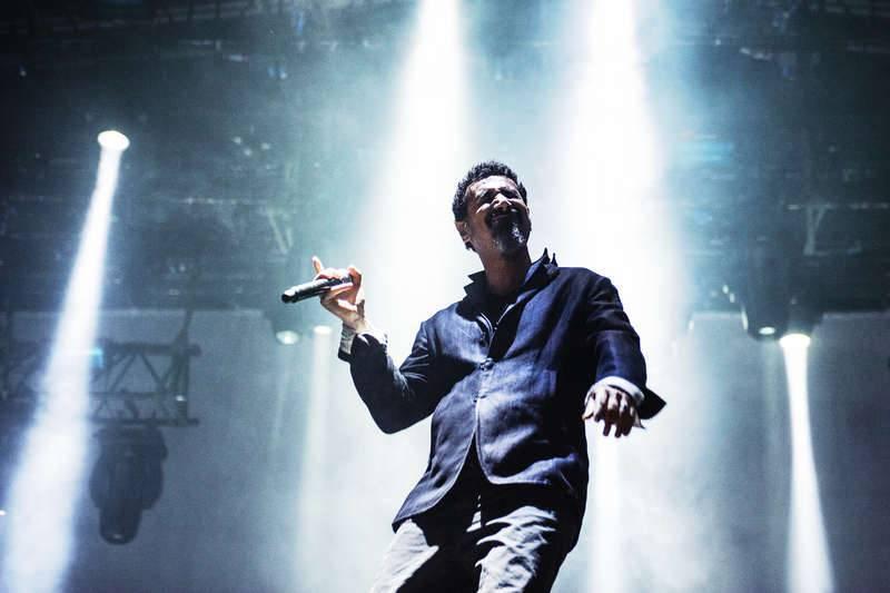 Serj Tankian på scen i Gävle i augusti 2013. Foto: Viktor Wallström/Rockfoto