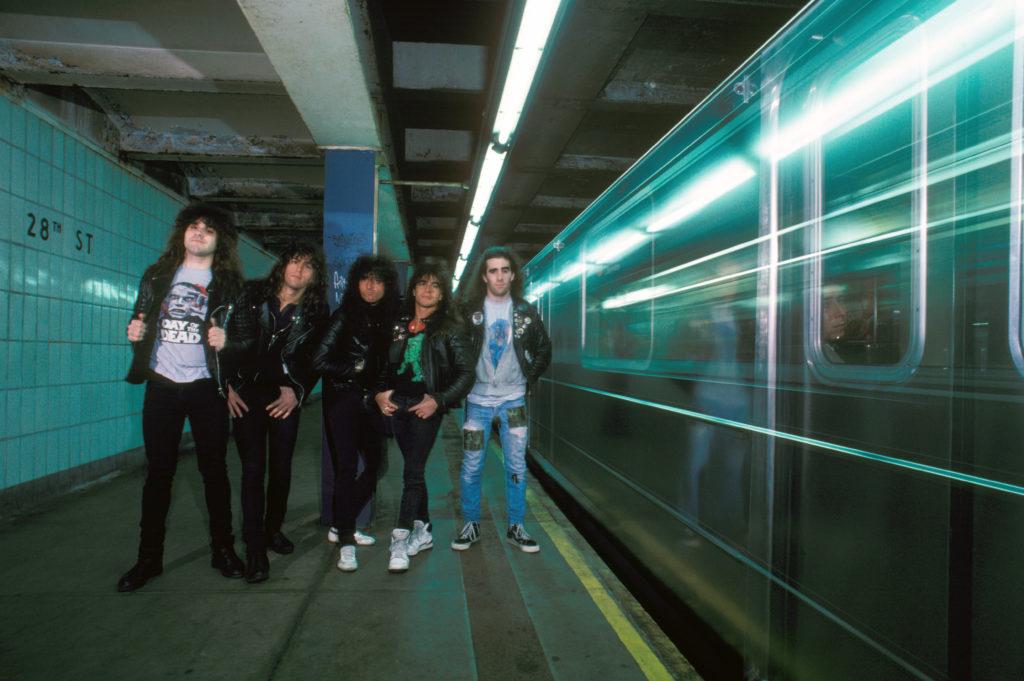Som väl orienterade i New York är Anthrax även tjenis och hejsan med stadens omfattande tunnelbanesystem. Foto: Waring Abbott/Getty Images
