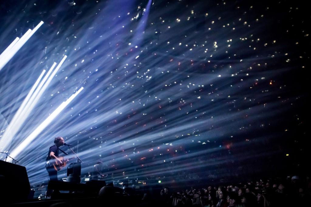 Radiohead spelar i Globen. 2017-06-09. Foto: Elin Bryngelsson Lidestedt/Rockfoto