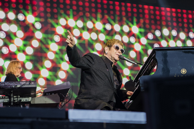 STOCKHOLM 2017-07-02 NÖJE Konsert PÅ BILD: Elton John spelar på Gröna lund. BILD: CAROLINA BYRMO