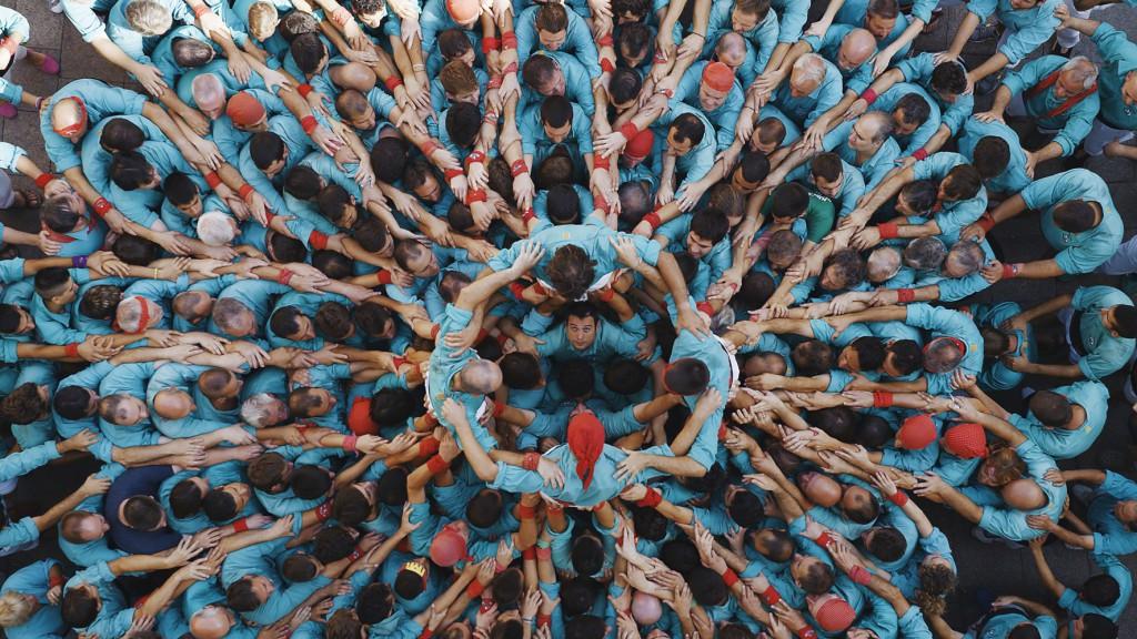 CASTELIERS, VILAFRANCA DEL PENEDÈS, CATALOGNE, ESPAGNE (41° 20' 31'' N – 1° 42' 25'' E). © HUMAN The Movie