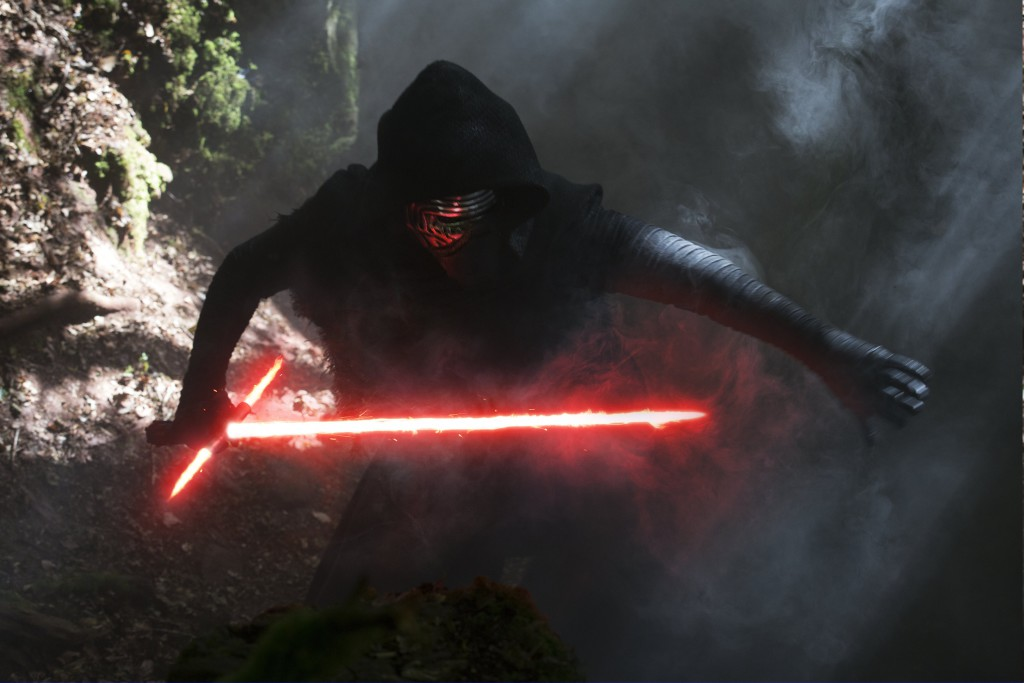 Star Wars: The Force Awakens..Kylo Ren (Adam Driver)..Ph: David James..©Lucasfilm 2015