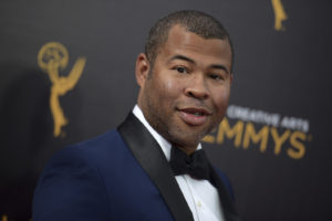 ap foto : richard shotwell : file - in this sept. 11, 2016, file photo, jordan peele arrives at night two of the creative arts emmy awards in los angeles. the trailer for peele's upcoming film, get out, debuted online on oct. 4, 2016. (photo by richard shotwell/invision/ap, file) september 11, 2016 file photo, 091016116902, 21334631 jordan peel film get ou automatarkiverad