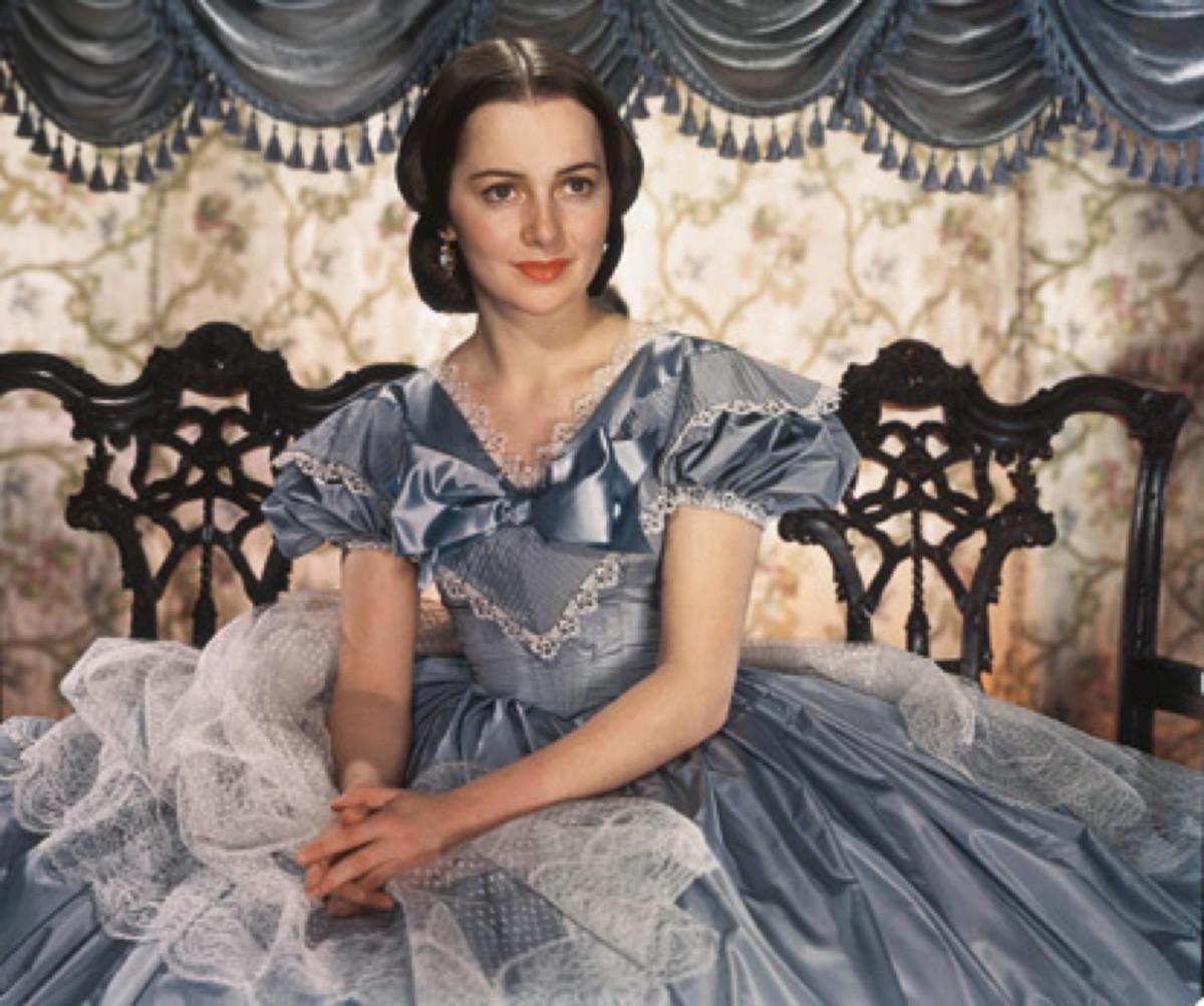 """Olivia de Havilland i """"Borta med vinden"""". Foto: MGM"""