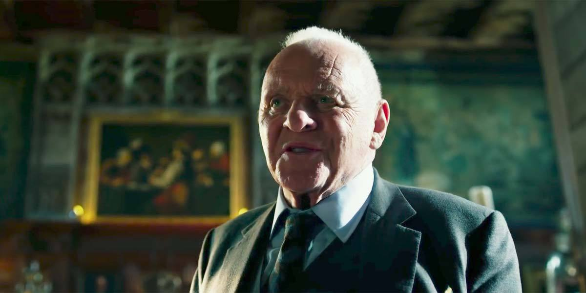 "Anthony Hopkins i ""Transformers: The last knight""."