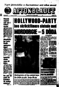 Så här rapporterade Aftonbladet om mordet 1969.