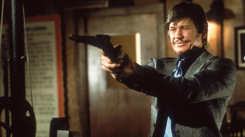"""Charles Bronson i """"Death wish – våldets fiende nr 1"""" (1974)."""