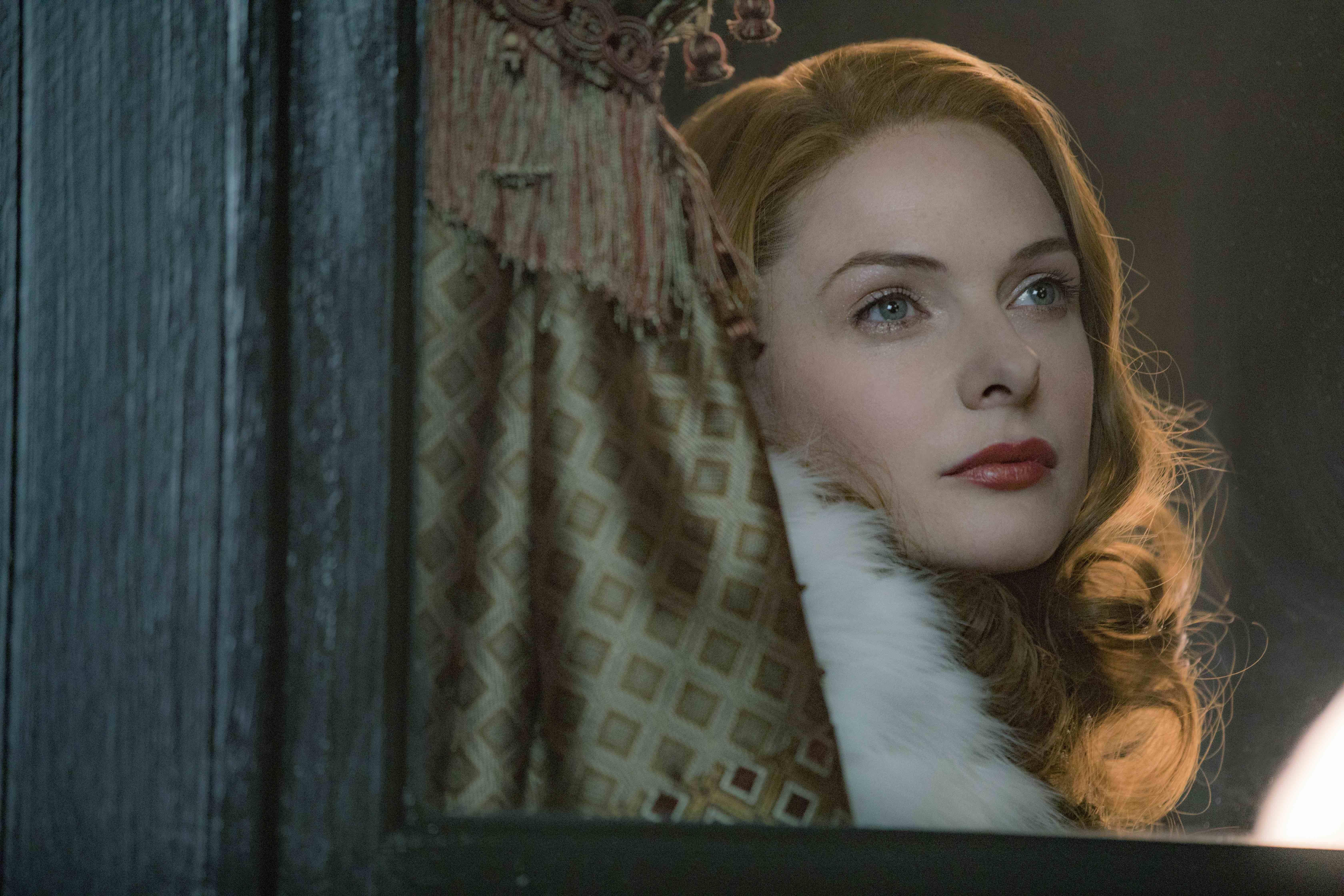 "Rebecca Ferguson stars in Twentieth Century Fox's ""The Greatest Showman."""