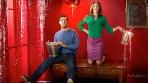 Rob Delaney och Sharon Horgan. Foto: Channel 4.