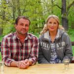 Christian Hellberg och  Karin Andersson.