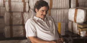 Wagner Moura som  Pablo Escobar. Foto: Netflix.
