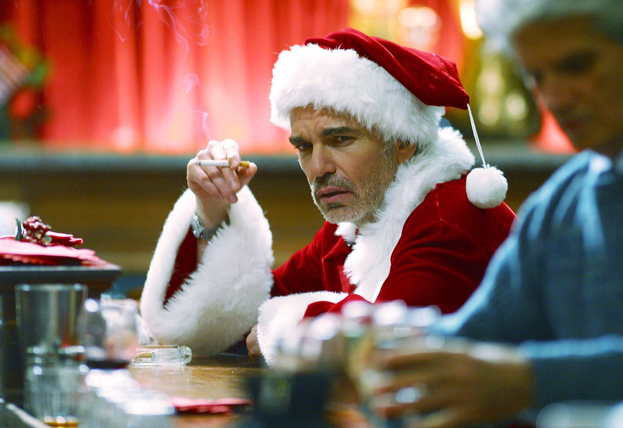 Som full jultomte.