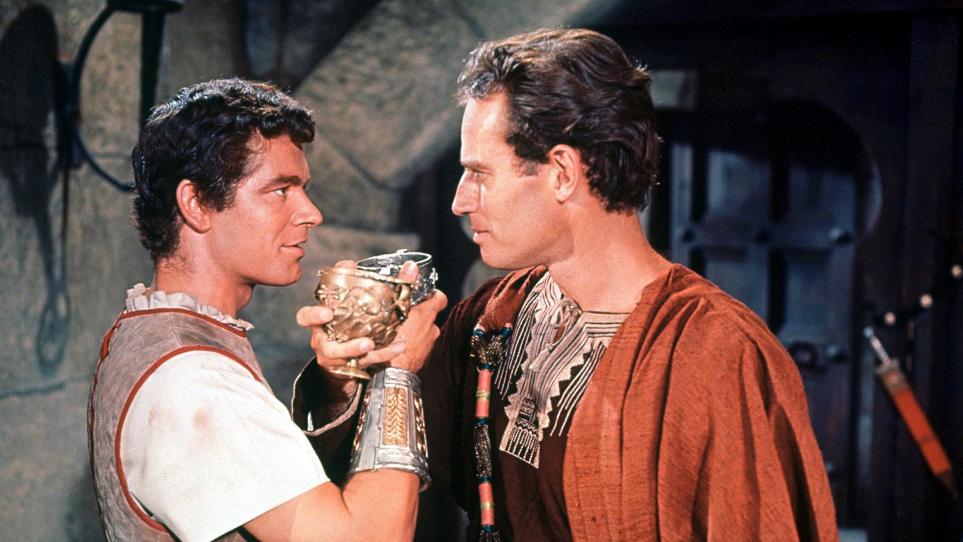 Messala och Ben-Hur.
