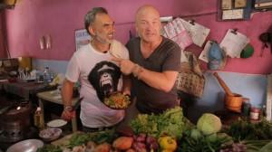 Kocken Peter Norman och Hans Fahlén. Foto: TV4