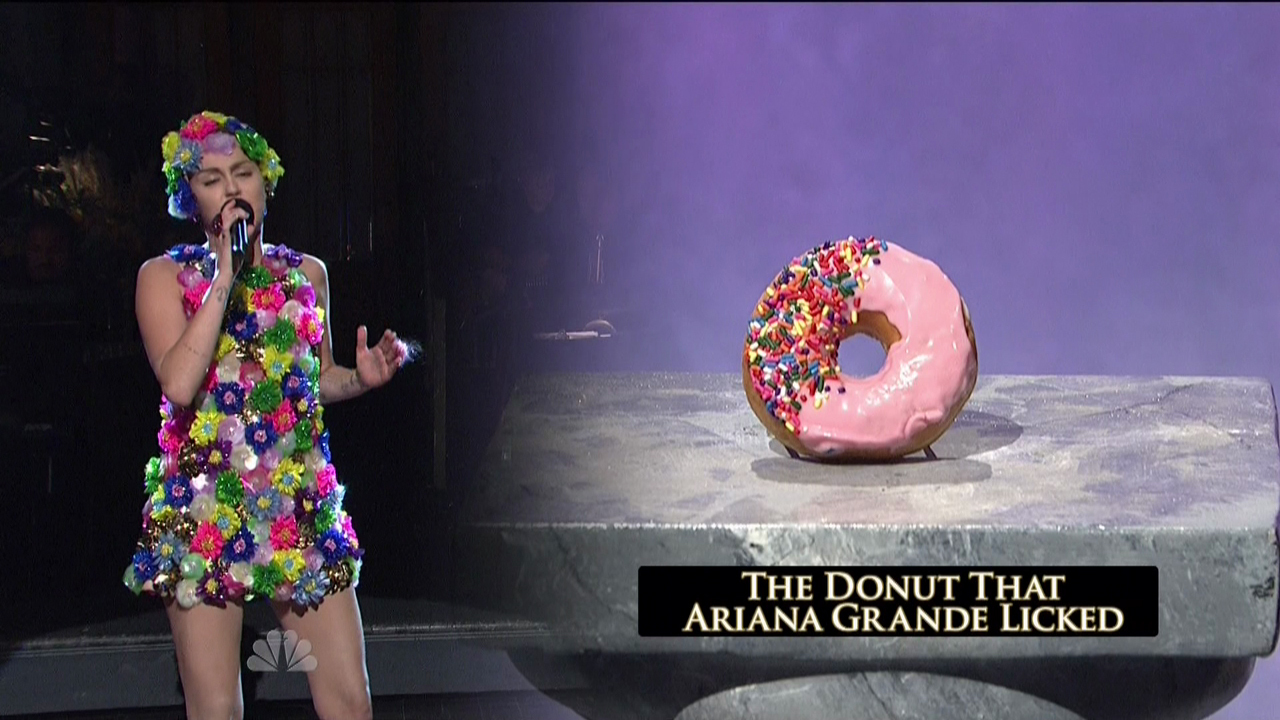 Miley Cyrus hosts the 41st season premiere of NBC's 'Saturday Night Live'Featuring: Miley CyrusWhere: United StatesWhen: 03 Oct 2015Credit: Supplied by WENN.com**WENN does not claim any ownership including but not limited to Copyright, License in attached material. Fees charged by WENN are for WENN's services only, do not, nor are they intended to, convey to the user any ownership of Copyright, License in material. By publishing this material you expressly agree to indemnify, to hold WENN, its directors, shareholders, employees harmless from any loss, claims, damages, demands, expenses (including legal fees), any causes of action, allegation against WENN arising out of, connected in any way with publication of the material.**