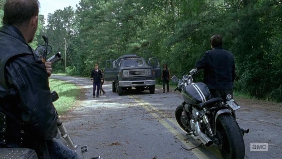 Vilka är det Daryl stöter på...?