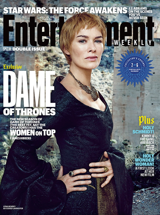 Lena Headey spelar Cersei Lannister. Foto: EW